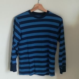Faded Glory striped sweater boys size large 10-12